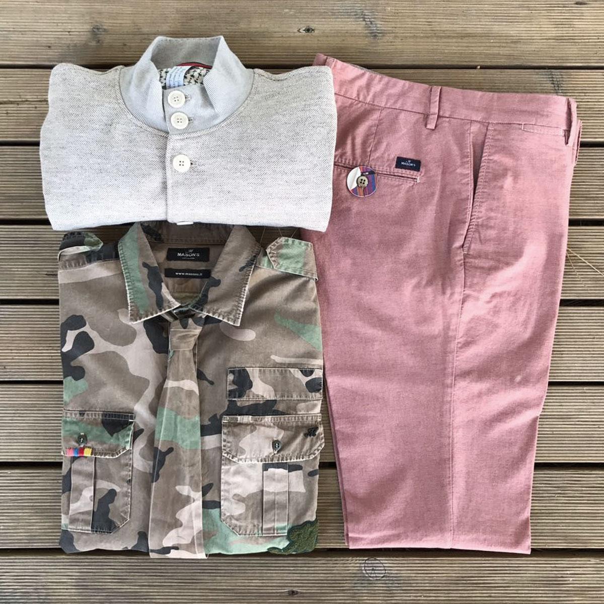 Mason's Estate 2017 Uomo - Campionario Unionmoda Outlet Abbigliamento