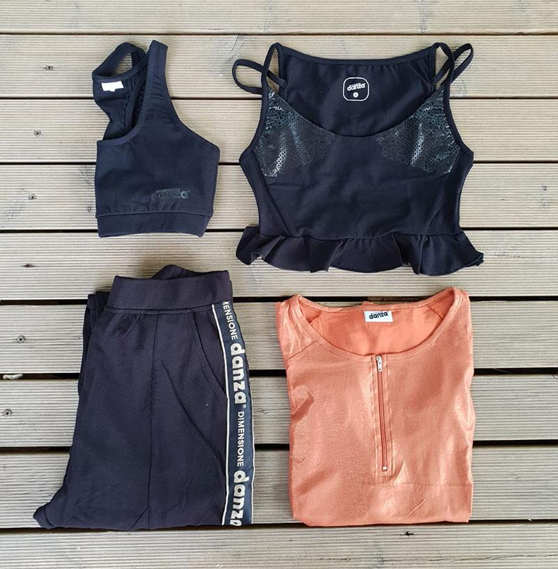 t-shirt, pantalone, canotta e top da donna di Dimensione Danza
