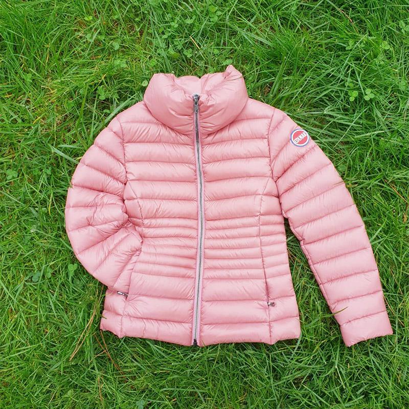 Piumino rosa da bimba Colmar