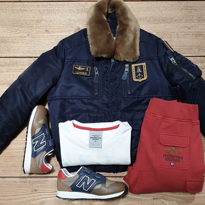 Outfit anticipazioni abbigliamento bambino