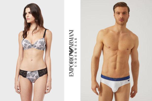 Intimo uomo e donna Emporio Armani Underwear Unionmoda Outlet